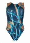 Tree Blue Maillot ballet